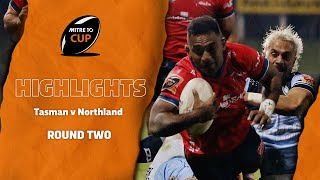 RD 2 HIGHLIGHTS | Tasman v Northland (Mitre 10 Cup 2020)