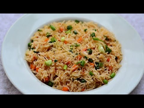 Veg fried rice Chinese in 2.22 min