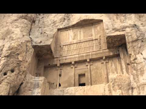 ► The 4 Tombs in Naqsh-e Rustam / IRAN Necropolis  - نقش رستم‎