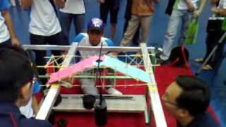 Kranji Sec Team 1 (10 Kg) - Ngee Ann Bridge Challenge 2009