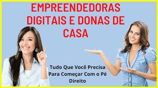 Negócio Online Para Empreendedoras Digitais e Donas De Casa