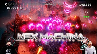 Nex Machina Arcade Co-op | Veteran Difficulty | Yeti Kong!?