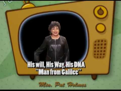 Short Music Video Clip/The Man from Galilee (Min. Pat Holmes)