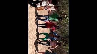 Nagpuri dance in bhudbeda, Mayurbh @ Holi festival