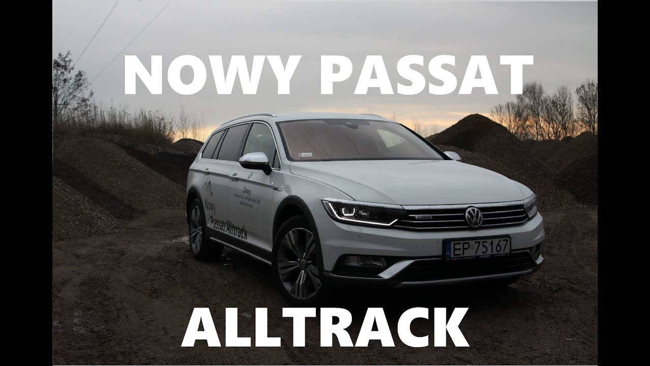 volkswagen passat alltrack b8 2 0 bitdi 240km test motoryzacyjny 6 youtube. Black Bedroom Furniture Sets. Home Design Ideas