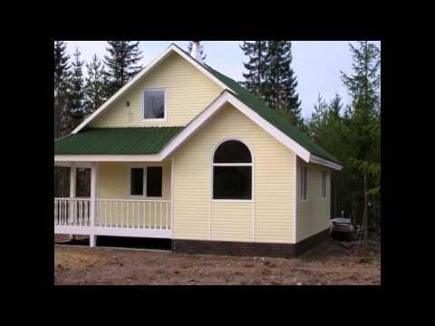 Цена строительства дома Сколько стоит построить дом из бруса и каркасный дом