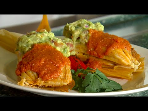 Extreme Ballpark Food: Vegan Tamale