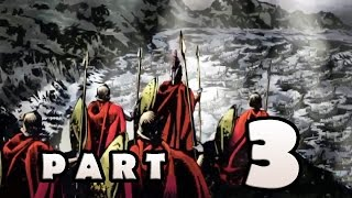 300 March To Glory Stage 3 Part 3 Gameplay Walkthrough (PSP) [HD]