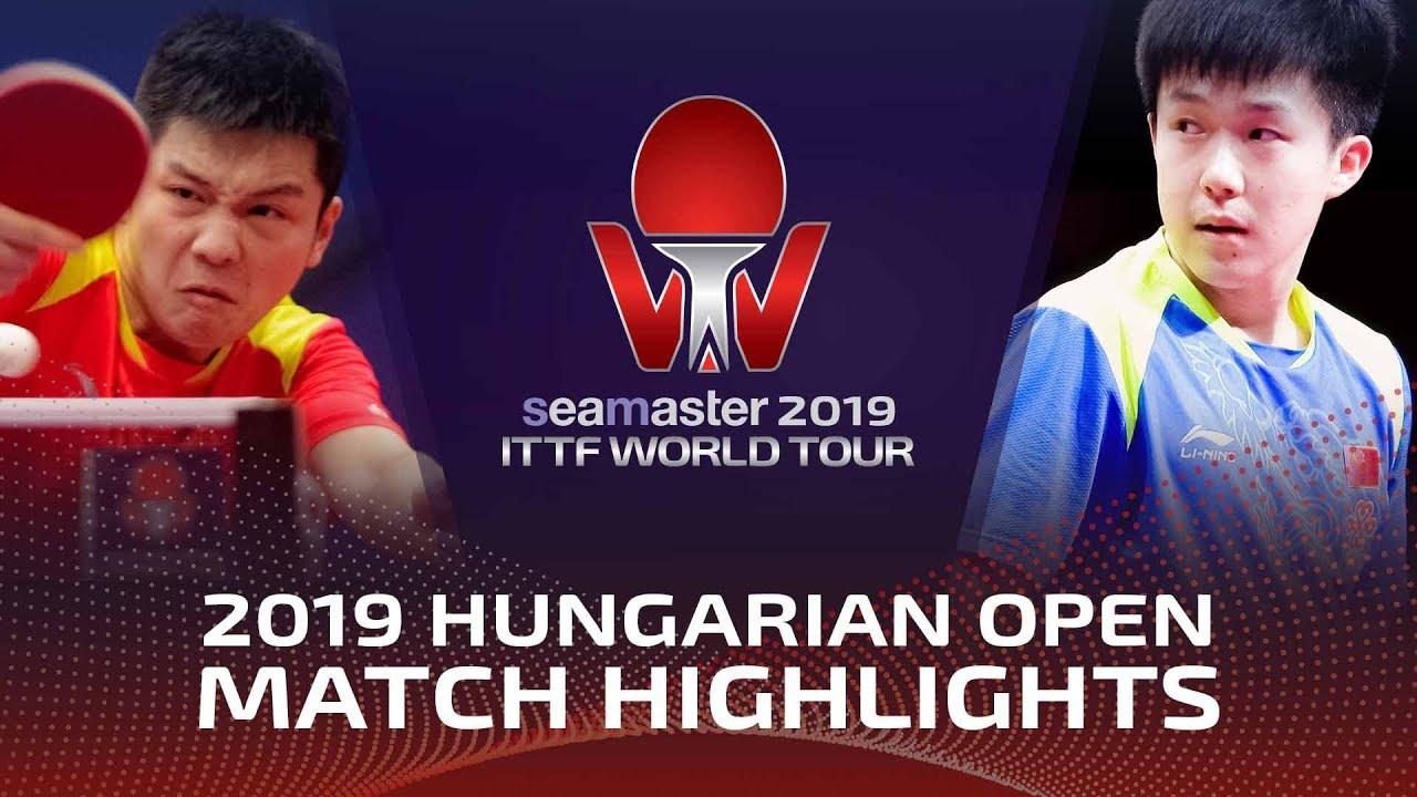 Download Fan Zhendong vs Wang Chuqin | 2019 ITTF World Tour Hungarian Open Highlights (1/2)