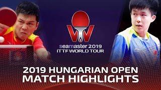Fan Zhendong vs Wang Chuqin | 2019 ITTF World Tour Hungarian Open Highlights (1/2)
