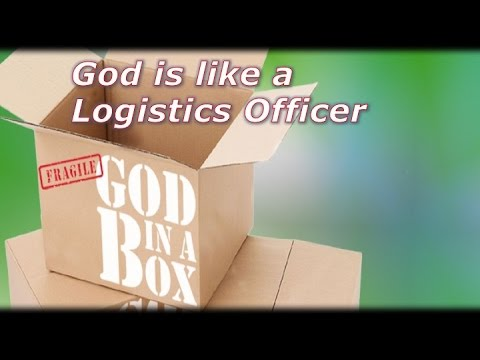God is like an Intimate Logistics Officer - 09/25/16