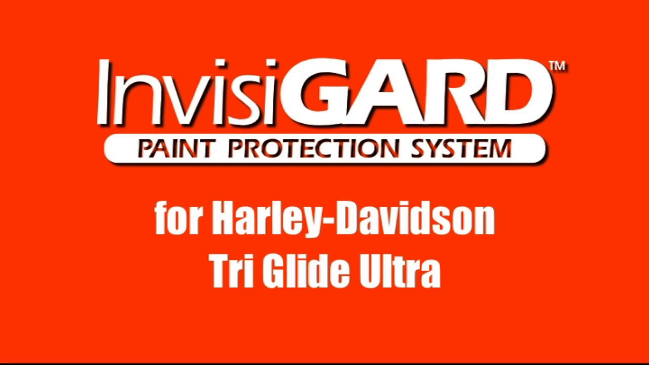 InvisiGARD Paint Protection Kit for Harley-Davidson Tri Glide Ultra - How-To