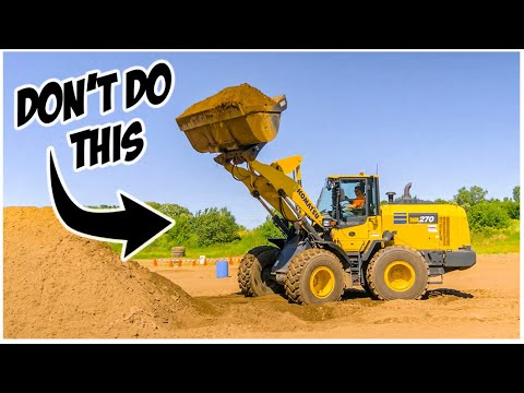What NOT To Do In A Wheel Loader | Heavy Equipment Operator
