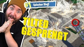 REWI & Ich SPRENGEN komplett TILTED TOWERS in Fortnite