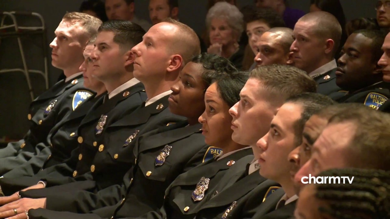Baltimore City Police Department Graduation; February 8, 2018 - YouTube