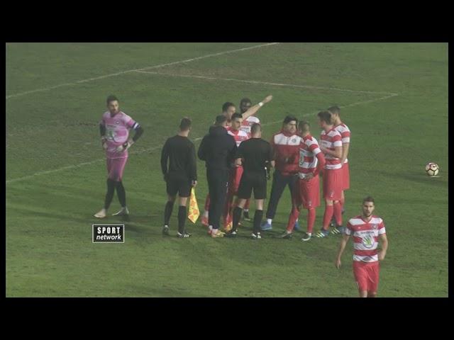 Superliga Srbije 2017/18, 17. kolo: Spartak - Borac 3:1