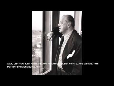 Mies van der Rohe: Then you act accordingly