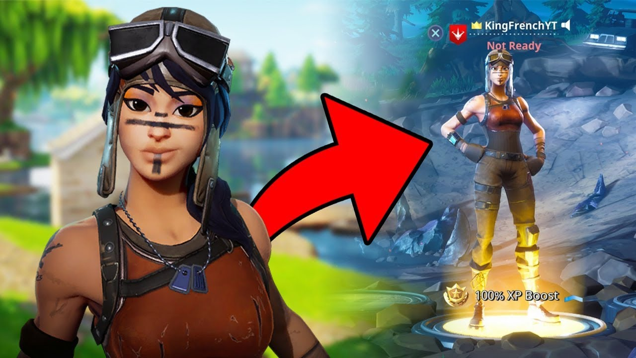 How To Get Renegade Raider In Fortnite