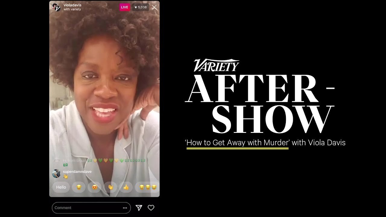 Viola Davis on 'How to Get Away With Murder' - Variety After-Show