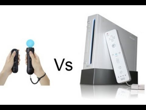 Playstation Move Vs. Wii Remote