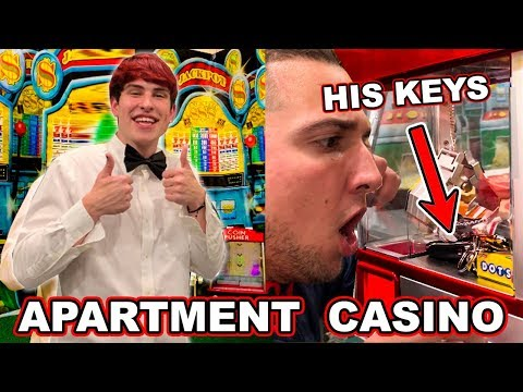 TURNING MY HOME INTO A CASINO