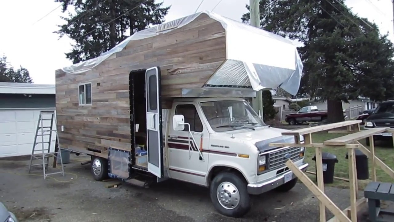 Quick Walkthrough Of Our 1985 Class C Rv Tiny House