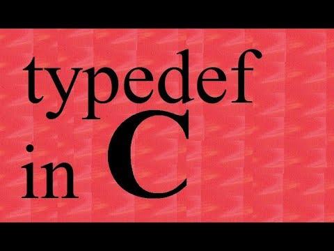 C Programming Tutorial :- typedef in c language (program)| typedef keyword | Saurabh Bhargava thumbnail