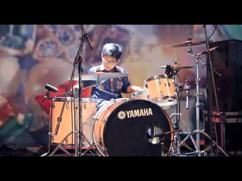 Akulah Serigala - Nineball (Drum Cover by Raihan Daffa, 10 Years Old)