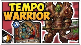 Hearthstone: Legend Tempo Bomb Warrior Deck Guide - Rise Of Shadows