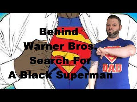 Behind Warner Bros  Search For A Black Superman