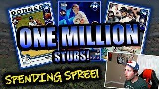 ONE MILLION STUB SPENDING SPREE!! MLB THE SHOW 18 DIAMOND DYNASTY