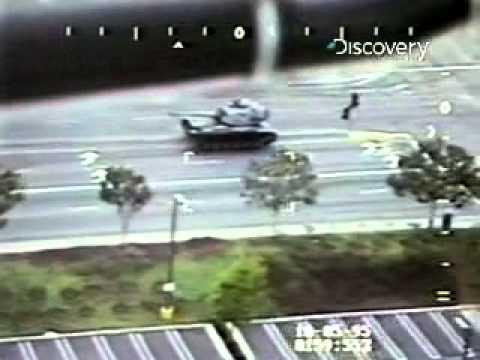 Stolen tank rampage