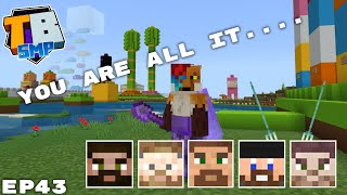 Pranking The Whole Server And Mega Derps - Truly Bedrock Season 2 Minecraft SMP Episode 43