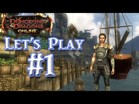DDO: Lets Play #1 (Commentary & Gameplay)