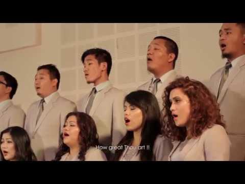 BESY Choir - How great thou art