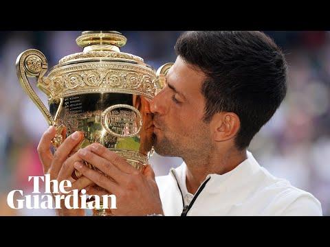 Novak Djokovic beats Roger Federer in epic match to win fifth Wimbledon title