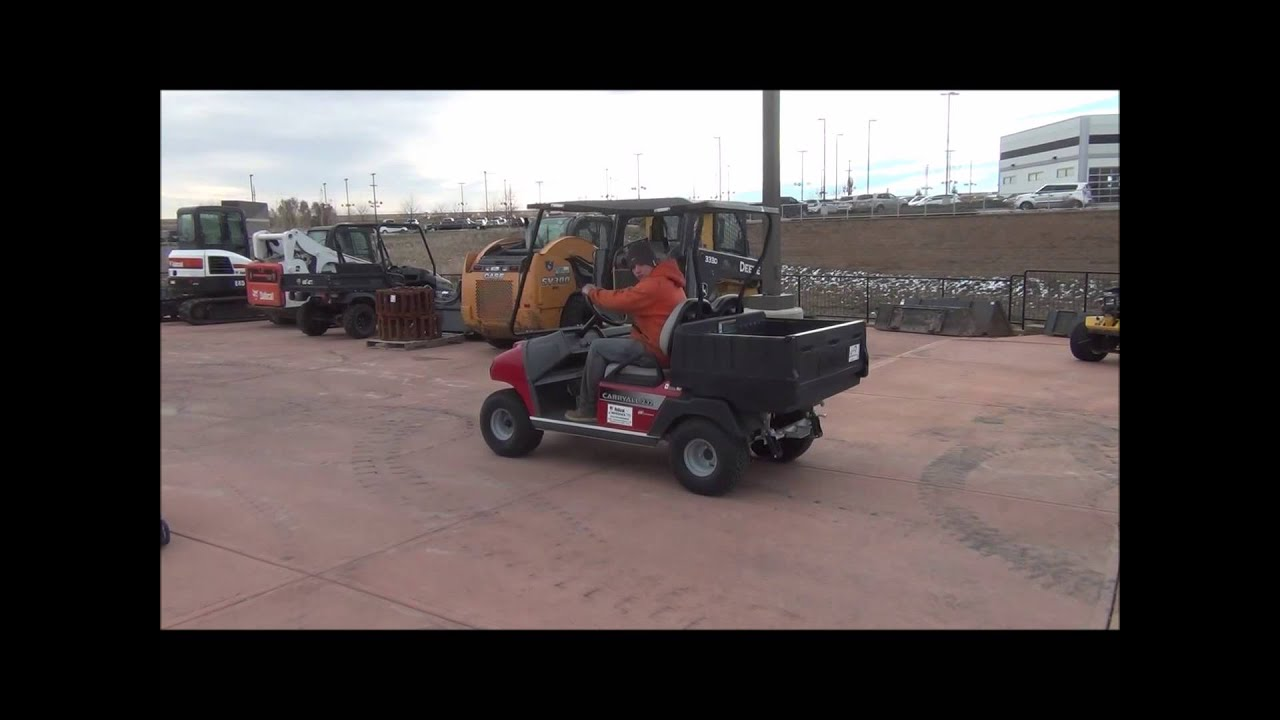 Ingersoll rand club car carryall manual forward reverse switch powerdrive plus array 2012 club car carryall 232 golf cart for sale sold at auction rh youtube fandeluxe Gallery