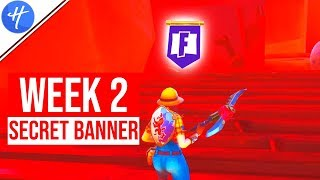 FORTNITE WEEK 2 SECRET BANNER LOCATION! (Season 8 Week 2 loading screen)
