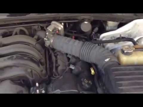 Dodge Charger Se V6 2 7 Engine Ticking Noise Youtube