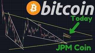 Bitcoin Bull Flag, Bull Pennant, Falling Wedge Or Bart Move? | JPM Coin | Institutional Investors!!