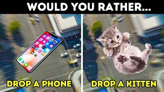 WOULD YOU RATHER? 13 HARDEST CHOICES TO TEST YOUR BRAIN thumbnail