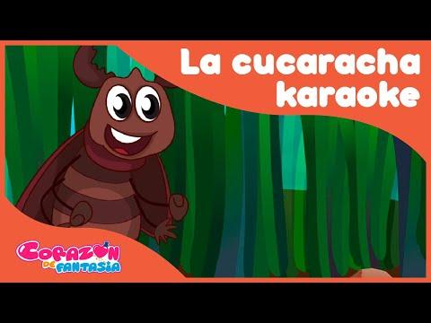 La Cucaracha Karaoke - canciones infantiles / Corazón de Fantasía from YouTube · Duration:  1 minutes 51 seconds