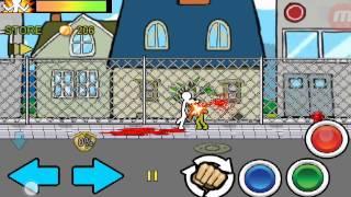 Хорошая игра для Android, обзор игры Anger of stick 2