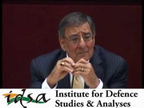 Q&A session with Leon E. Panetta, Defence Secretary, United States at IDSA