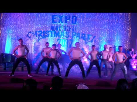 Expo Home Depot Christmas Party 2017- Dance Champion