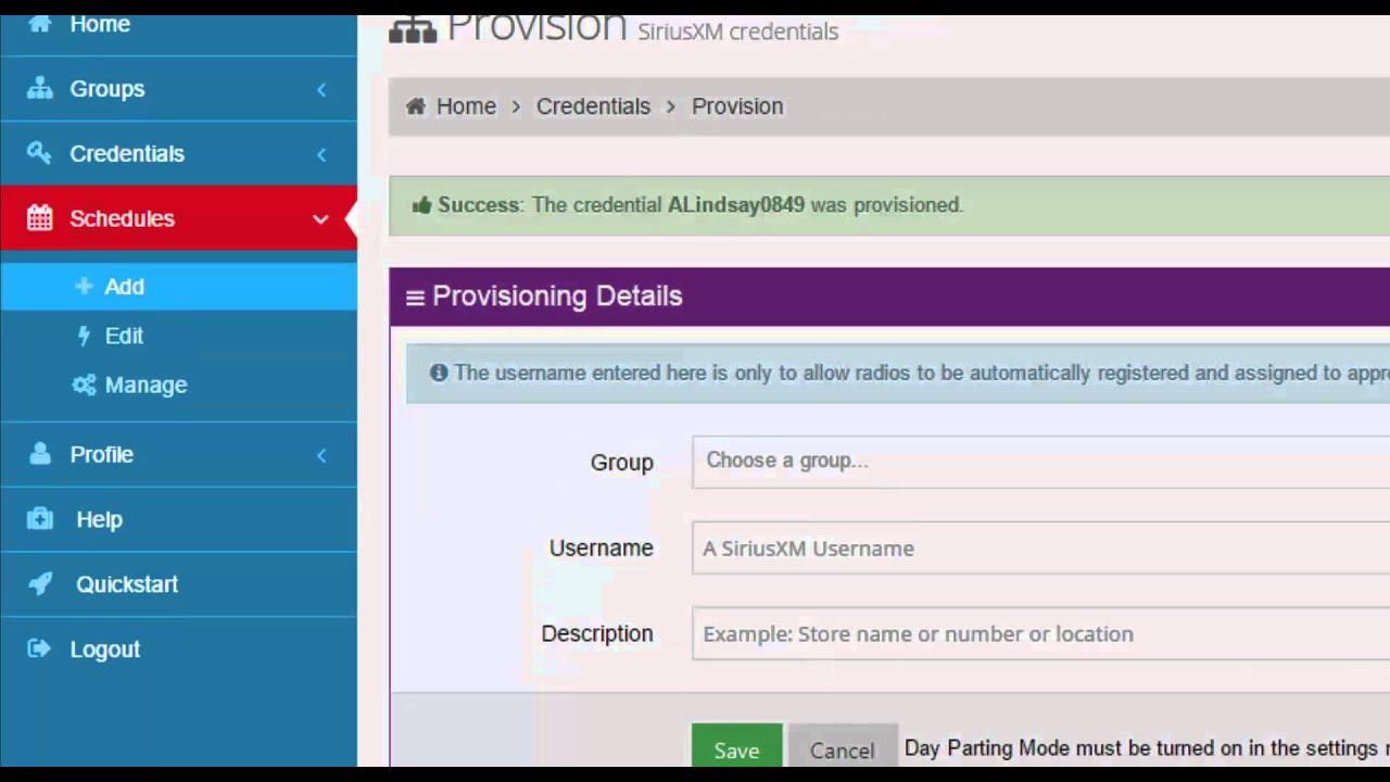 7266 portal athenahealth - Video Tutorial Siriusxm Portal Quickstart Guide