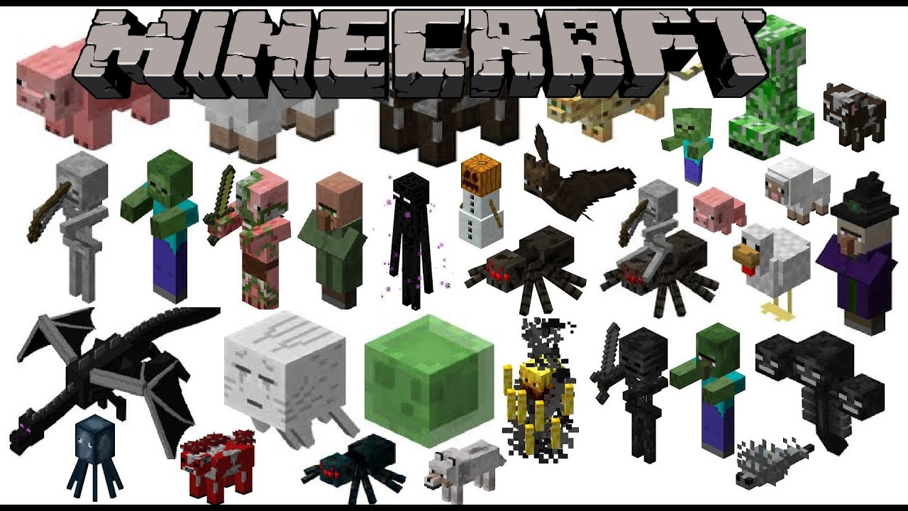 The gallery for --> All Minecraft Monsters