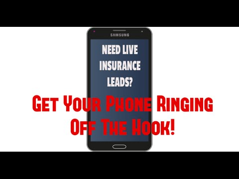 Life Insurance Lead Generation - Live Insurance Leads!