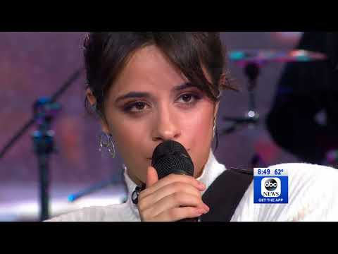 Camila Cabello - Never Be The Same (Live From Good Morning America)