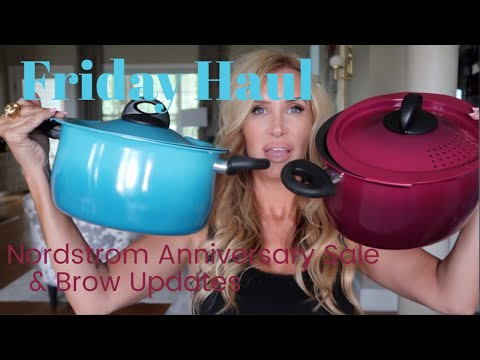 Friday Haul~ Nordstrom Anniversary Sale/Brow Updates - 동영상